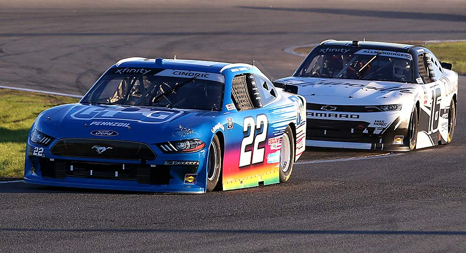Respect between Allmendinger, Cindric remains mutual after Bristol tussle - NASCAR