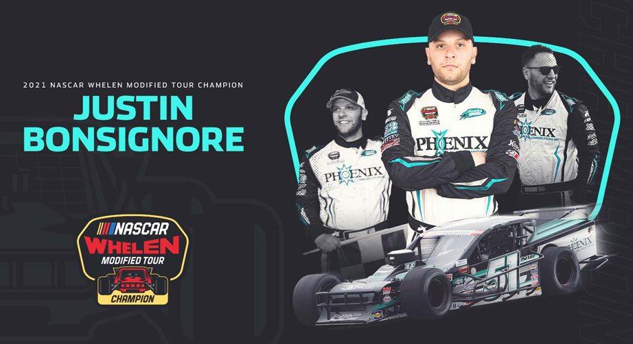 Justin Bonsignore wins 2021 NASCAR Whelen Modified Tour championship - NASCAR