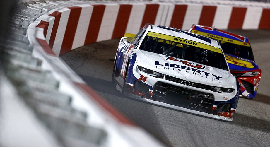 Byron, Truex Jr. to start from rear after cars fail pre-race inspection at Las Vegas - NASCAR