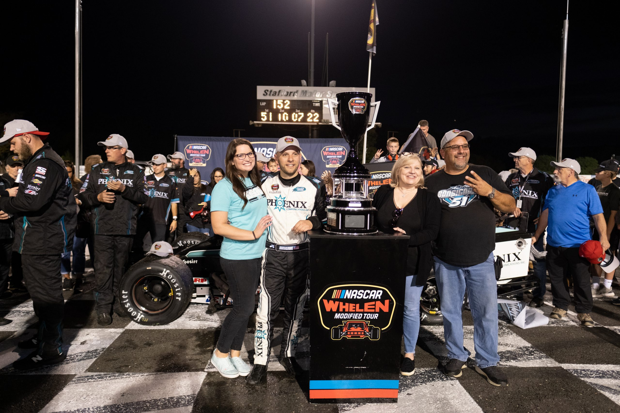 Justin Bonsignore joins NASCAR Modified greats with three or more titles - NASCAR