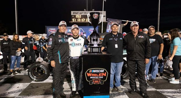 Third title adds Bonsignore to historic list