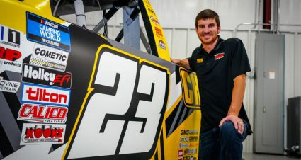 Grant Enfinger joins GMS Racing for full-time ride in 2022 and 2023