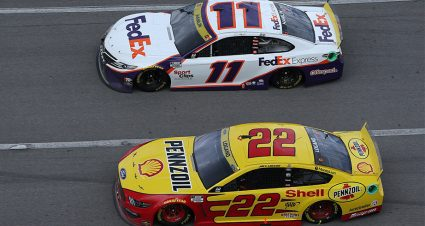 Early Hamlin bettors in fine shape, but is Logano worth a shot with a wager to win it all?