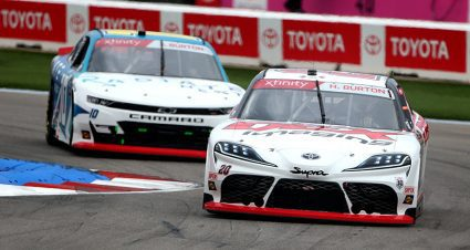 Harrison Burton moves on, edges out cousin in Xfinity playoff battle; Snider, Clements, Herbst also out