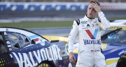 Valiant effort from William Byron comes up short at the Roval