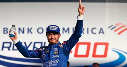 Larson wins playoff race at Charlotte Roval; Round of 8 set