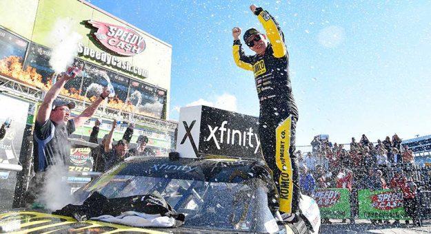 John Hunter Nemechek rallies to Xfinity Series win, denies playoff field at Texas